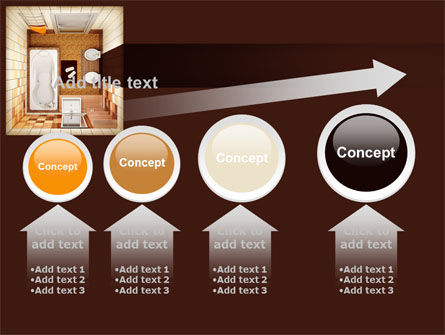 Plan Of Bathroom PowerPoint Template Slide 13