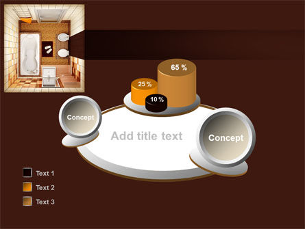 Plan Of Bathroom PowerPoint Template Slide 16