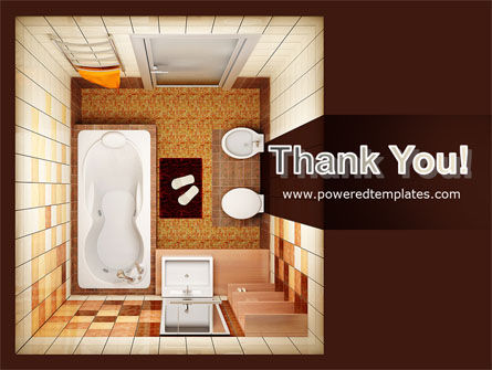 Plan Of Bathroom PowerPoint Template Slide 20