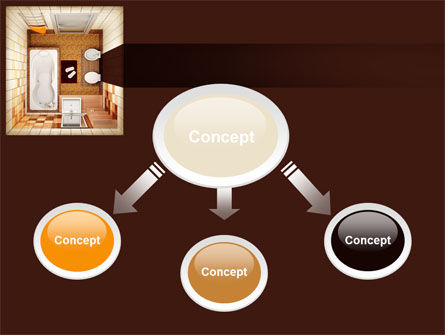 Plan Of Bathroom PowerPoint Template Slide 4