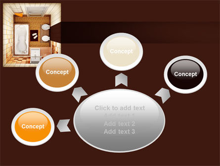Plan Of Bathroom PowerPoint Template Slide 7