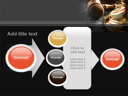 American Justice PowerPoint Template Slide 17
