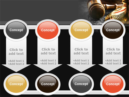 American Justice PowerPoint Template Slide 18