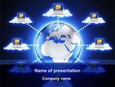 Technology and Science: Plantilla de PowerPoint - computación en la nube #10045