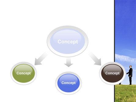 Face to Face Business Meeting PowerPoint Template, Slide 4, 10046, Business — PoweredTemplate.com