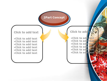 Diving Photo Shooting PowerPoint Template, Slide 4, 10048, Sports — PoweredTemplate.com