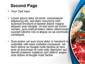 Diving Photo Shooting PowerPoint Template#2