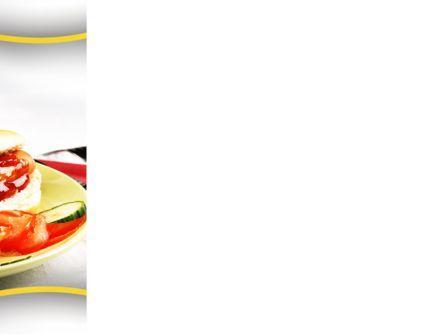 Yummy Hot-Dog PowerPoint Template, Slide 3, 10049, Food & Beverage — PoweredTemplate.com