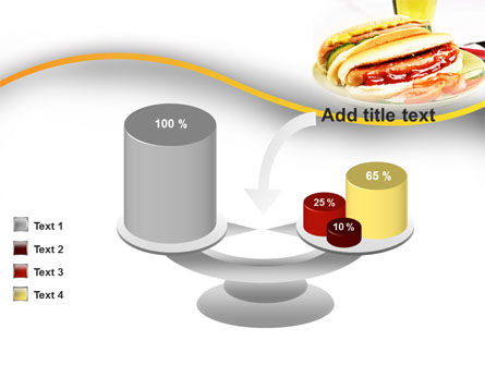 Yummy Hot-Dog PowerPoint Template Slide 10