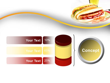 Yummy Hot-Dog PowerPoint Template Slide 11