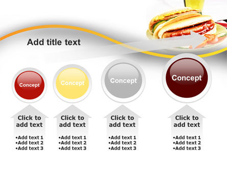 Yummy Hot-Dog PowerPoint Template Slide 13
