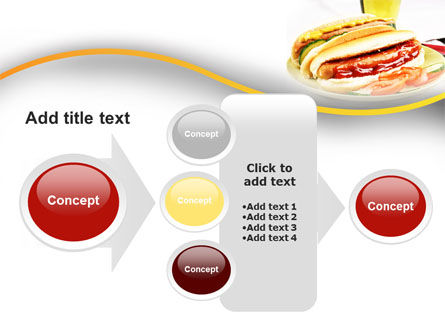 Yummy Hot-Dog PowerPoint Template Slide 17