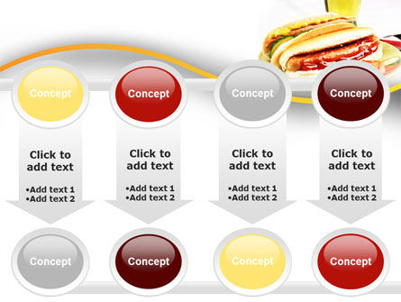 Yummy Hot-Dog PowerPoint Template Slide 18