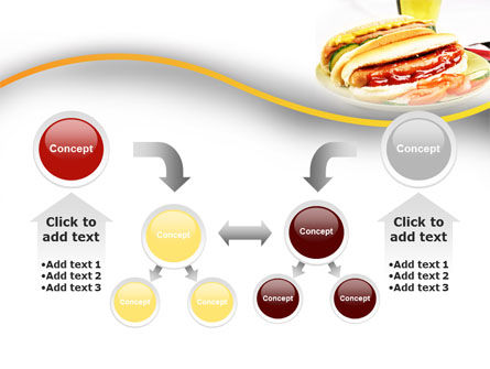 Yummy Hot-Dog PowerPoint Template Slide 19