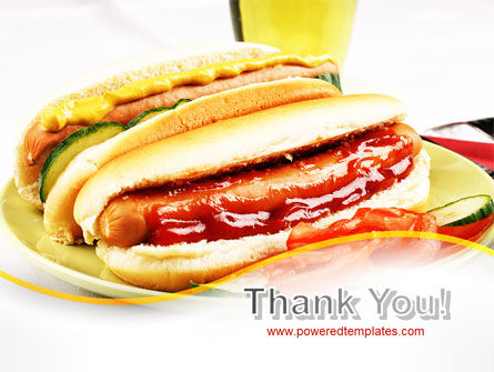Yummy Hot-Dog PowerPoint Template Slide 20