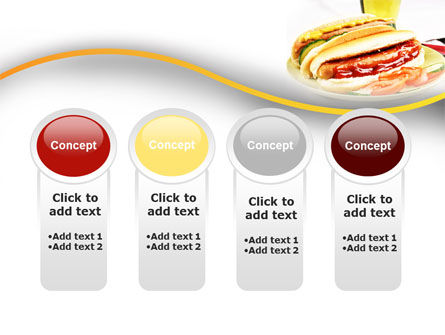 Yummy Hot-Dog PowerPoint Template Slide 5