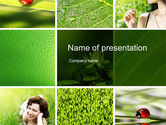 Medical: Summer Pleasure Collage PowerPoint Template #10053