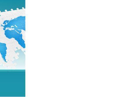Wide World Jigsaw PowerPoint Template, Slide 3, 10054, Global — PoweredTemplate.com
