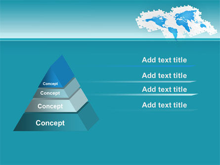 Wide World Jigsaw PowerPoint Template Slide 12