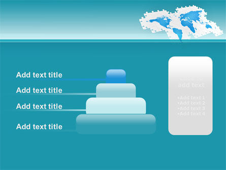 Wide World Jigsaw PowerPoint Template Slide 8