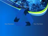 Wide World Computerization PowerPoint Template#10