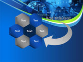 Wide World Computerization PowerPoint Template#11