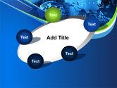 Wide World Computerization PowerPoint Template#14