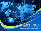 Wide World Computerization PowerPoint Template#20