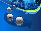 Wide World Computerization PowerPoint Template#6