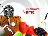 Sports: Sports Parenting PowerPoint Template #10058