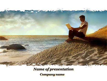 Be In Contact PowerPoint Template