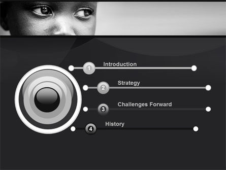 Black Boy PowerPoint Template, Slide 3, 10064, People — PoweredTemplate.com