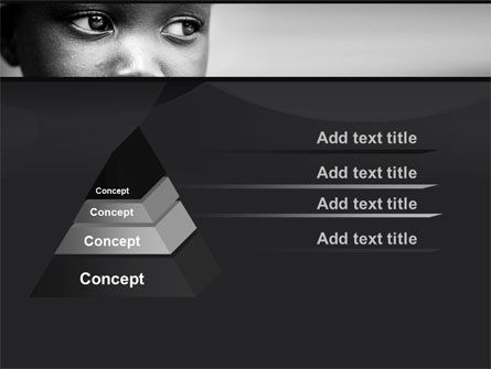 Black Boy PowerPoint Template, Slide 4, 10064, People — PoweredTemplate.com