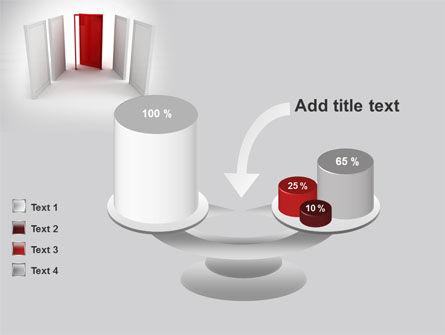 Doorway PowerPoint Template Slide 10