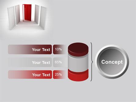 Doorway PowerPoint Template Slide 11