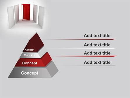 Doorway PowerPoint Template Slide 12