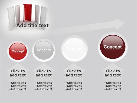 Doorway PowerPoint Template Slide 13