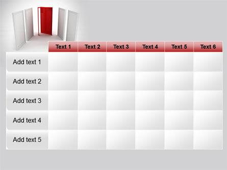 Doorway PowerPoint Template Slide 15