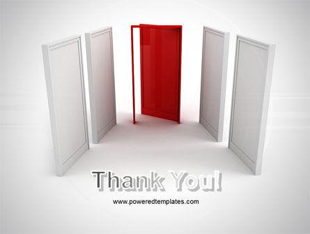 Doorway PowerPoint Template Slide 20