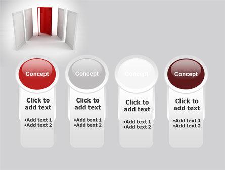 Doorway PowerPoint Template Slide 5