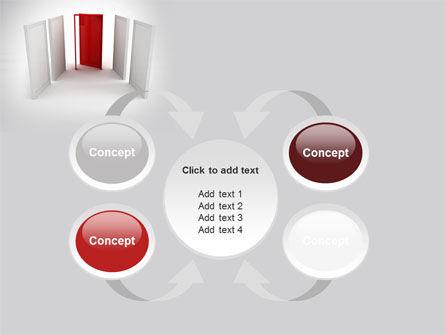 Doorway PowerPoint Template Slide 6