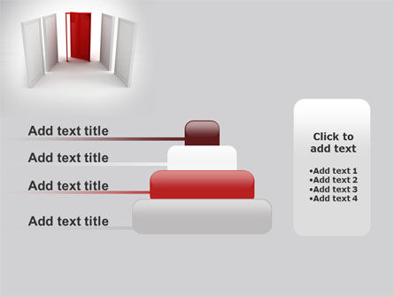 Doorway PowerPoint Template Slide 8