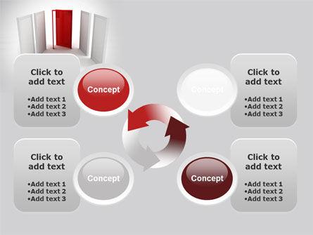 Doorway PowerPoint Template Slide 9