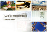 Real Estate: Plantilla de PowerPoint - edificio en venta #10068