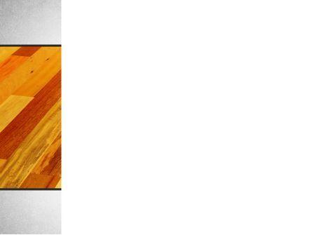 Parquet PowerPoint Template, Slide 3, 10069, Construction — PoweredTemplate.com