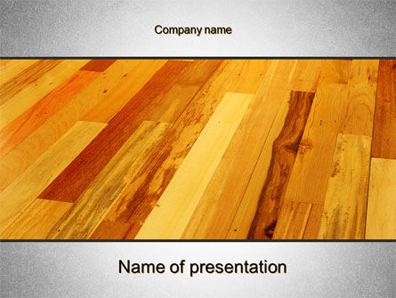 Parquet PowerPoint Template