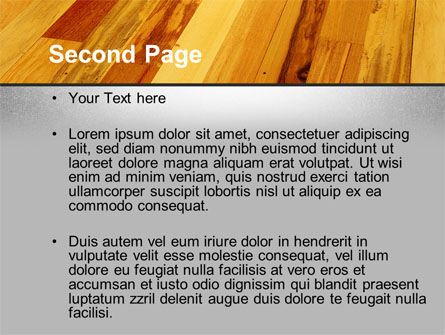 Parquet PowerPoint Template Slide 2