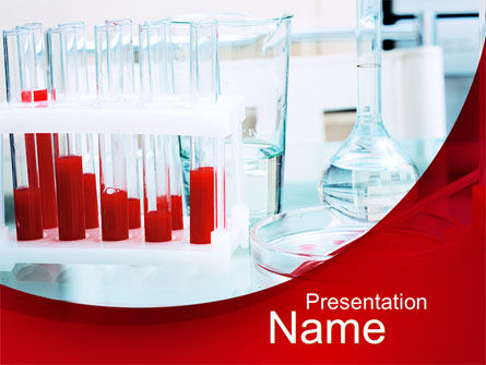Laboratory Ware PowerPoint Template, 10071, Medical — PoweredTemplate.com