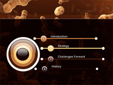 Escherichia Coli In Liquid PowerPoint Template, Slide 3, 10078, Medical — PoweredTemplate.com