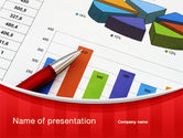 Financial/Accounting: Analytical Work PowerPoint Template #10079